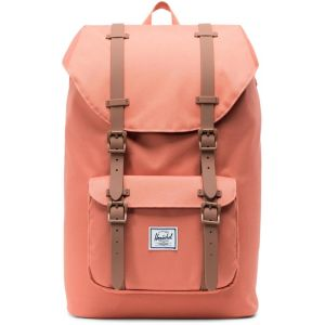Herschel Little America Backpack Mid-Volume apricot brandy/saddle brown