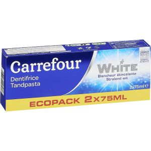 Carrefour white - Dentifrice blancheur
