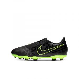 Nike Chaussure de footballà crampons pour terrain sec Jr. Phantom Venom Academy FG pour Enfant plus âgé - Noir - Taille 38 - Unisex