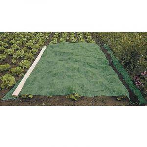 Voile vert 60g/m2 d'hivernage 2 x 10 m