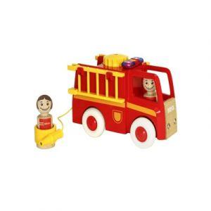 Brio 30383 - Camion de pompiers son et lumière