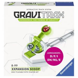 Ravensburger Jeu de logique Gravitrax Scoop Blanc et Vert
