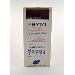 Phyto Paris Color - Coloration Permanente - 3.77 Marron clair cappuccino