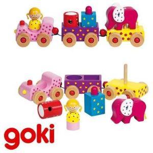 Goki Train multi-activités formes à emboîter