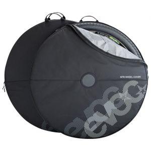 Evoc VTT La Housse MTB Wheel Cover protège Lors du Transport et Leur Environnement des salissures (Convient Aussi aux Roues ? 29 Pouces). Mixte Adulte, Noir