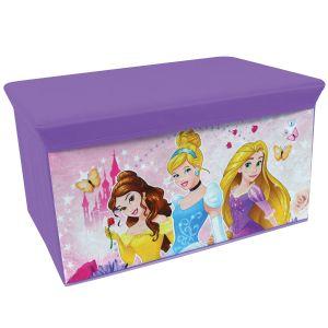 Jemini Coffre à jouets en tissu pliable Princesse Disney