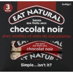 Eat Natural Barres fruits secs chocolat noir airelles noix de macadamia