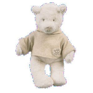 Moulin roty Peluche Ours Basile 30 cm
