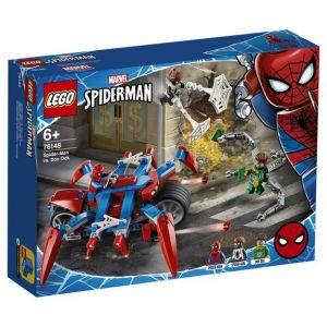 Lego Marvel Super HeroesTM - Spider-Man contre Docteur Octopus, Jouet Marvel Enfant 6 Ans Et Plus, 234 Pièces - 76148