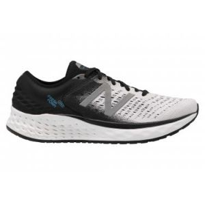 New Balance Chaussures running New-balance Fresh Foam 1080 - White / Black - Taille EU 46 1/2
