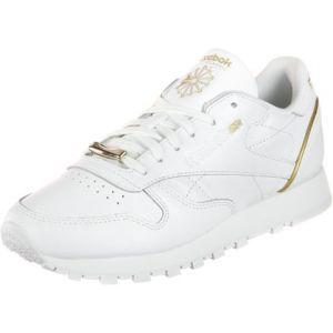 Reebok Bs9878, Chaussures de Gymnastique Femme, Blanc Cassé (Whiterose Gold), 37 EU