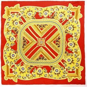 Allée du foulard Carré de soie Premium Aleja Rouge