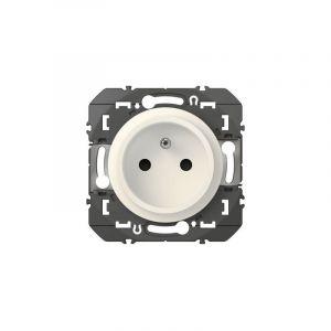Legrand Prise de courant easyréno 2P+T faible profondeur dooxie 16A finition blanc (600328)