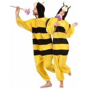 Déguisement peluche abeille adulte