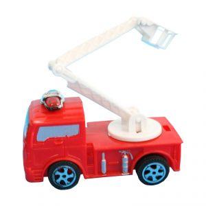 Camion de pompier 8.5 cm rétro-friction