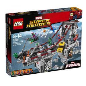 Lego 76057 - Super Heroes : DC Comics - Spider-Man Le combat suprême sur le pont des Web Warriors