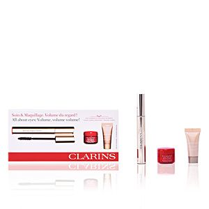 Clarins Coffret Crème Lisse Minute, Instant Concealer et Mascara Supra Volume