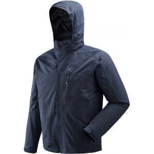Millet Pobeda II - Veste Homme - bleu M Vestes de pluie