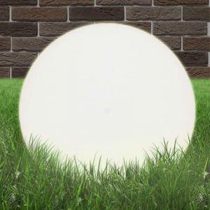 VidaXL Lampe à LED sous forme de boule Sphérique 50 cm PMMA