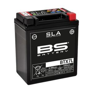 BS Battery Batterie BS BTX7L SLA (YTX7L)