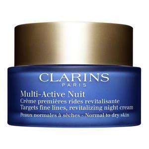 Clarins Multi-active Nuit - Crème premières rides revitalisante peaux normales à sèches