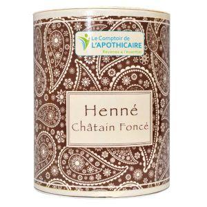 Le Comptoir de l'Apothicaire Henné Châtain Foncé 100g
