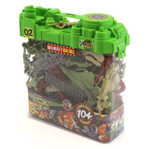 Boîte 104 soldats avec accessoires