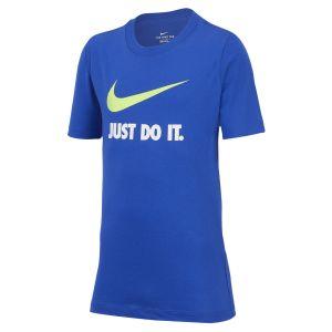 Nike Tshirt Sportswear Bleu / Jaune - Taille 12 Ans