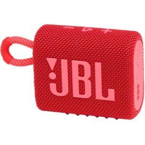 JBL Go 3 Rouge - Enceinte Bluetooth