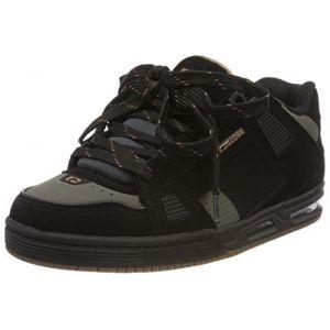 Globe Sabre, Chaussures de Skateboard Homme, Noir (Black/Charcoal/Woodsmoke Brown), 44 EU