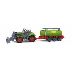 RayLine Tracteur radiocommandé avec citerne Farmer's