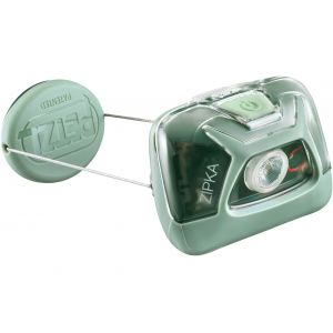 Petzl Zipka - 300 lumens Lampe frontale / éclairage Vert - Taille TU
