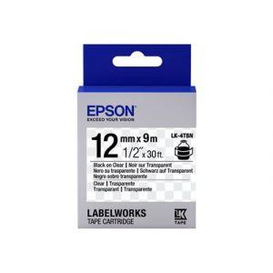 Epson LK-4TBN noir/transparent
