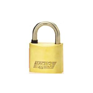 THIRARD 0003451 - Cadenas de sûreté 45 mm s'entrouvant à clé