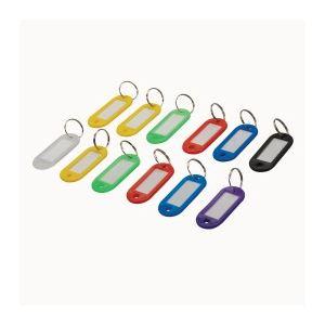 Silverline 844160 - Porte-clés à étiquettes 12 pièces