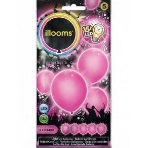 5 ballons LED Illooms