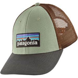 Patagonia P-6 Logo Lopro Trucker Hat - Casquette taille One Size, gris/noir/brun