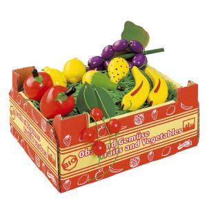 Legler 1646 - Cageot de 11 fruits