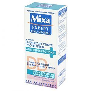 Mixa Expert Peau Sensible - Hydratant Teinté Protecteur Anti-Imperfections Dermo Defense 50 ml