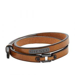 Diesel Bracelets Bracelet en Cuir Homme multicolor - Taille Unique