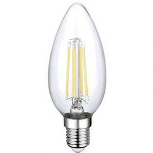 Sygonix Ampoule LED E14 4 W (Ø x L) 35 mm x 98 mm EEC: classe A++ 2 pc(s)