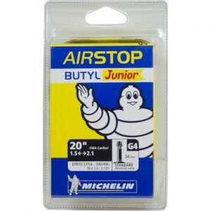 Michelin Chambre à air vélo junior 20x1,5/1,9 valve Schrader