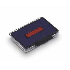 Trodat Cassette d'encrage Bleu/Rouge 6/58/2