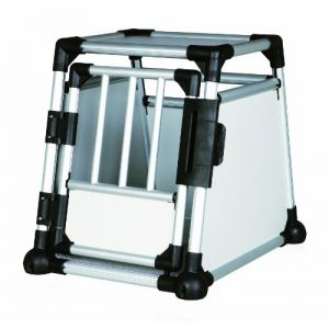 Trixie 39340 - Box de transport aluminium pour chien taille S