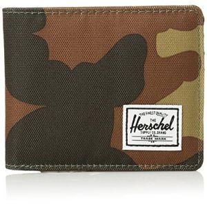 Herschel Roy + Coin RFID Woodland Camo