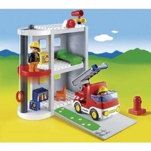 Playmobil 6777 - 1.2.3 : Caserne de pompiers