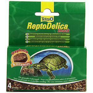 Tetra Snack Reptodelica 4X12Gr Tortues