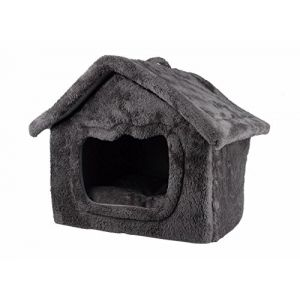 Maison petit chien & chat ''daily'' gris