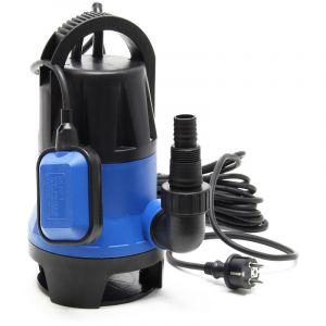 wiltec Pompe 550W Eaux usées Pompe submersible 10500 l/h Pompe de jardin Pompe de puits