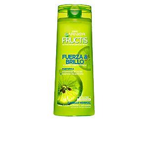 Garnier Force et brillance shampooing Fructis - Norml cheveux sans paraben, Silicones - 360 ml